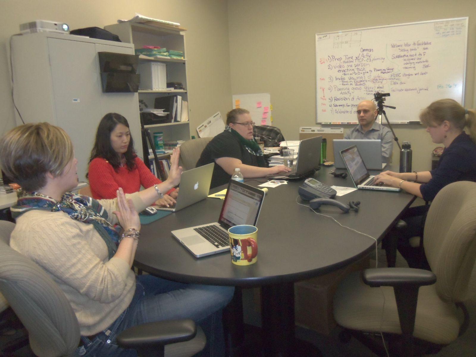 M-DISC Team Meeting