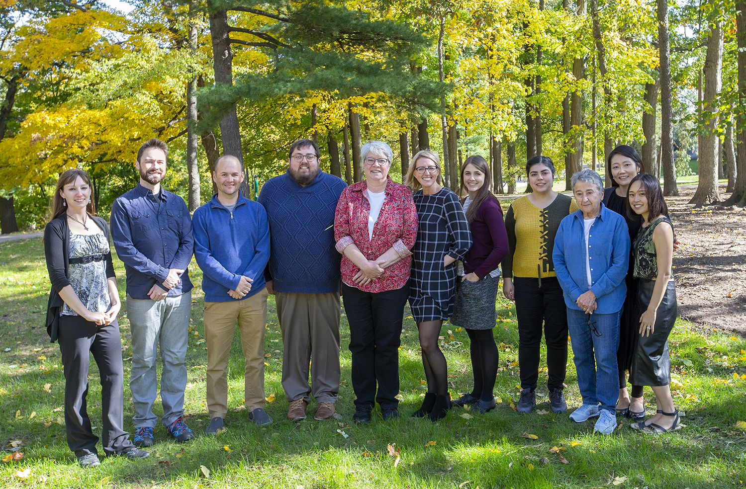 CMP Staff Fall 2019 Photo
