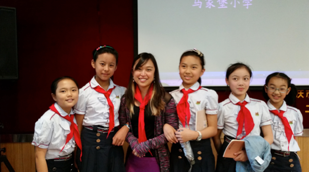 Kate Appenzeller FEGU China Trip with elementary students