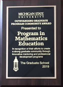 PRIME Outstanding Graduate Program Community Award