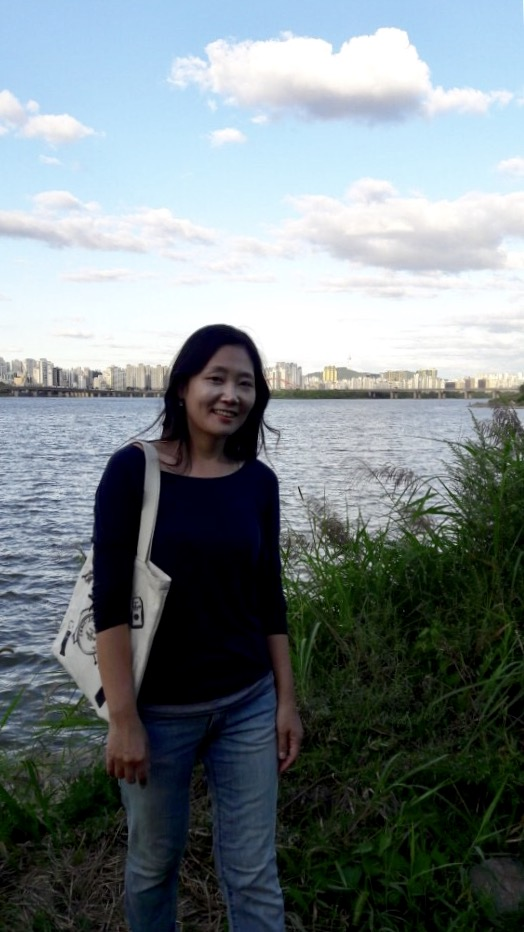 Sunyoung at Han River in Seoul, Korea