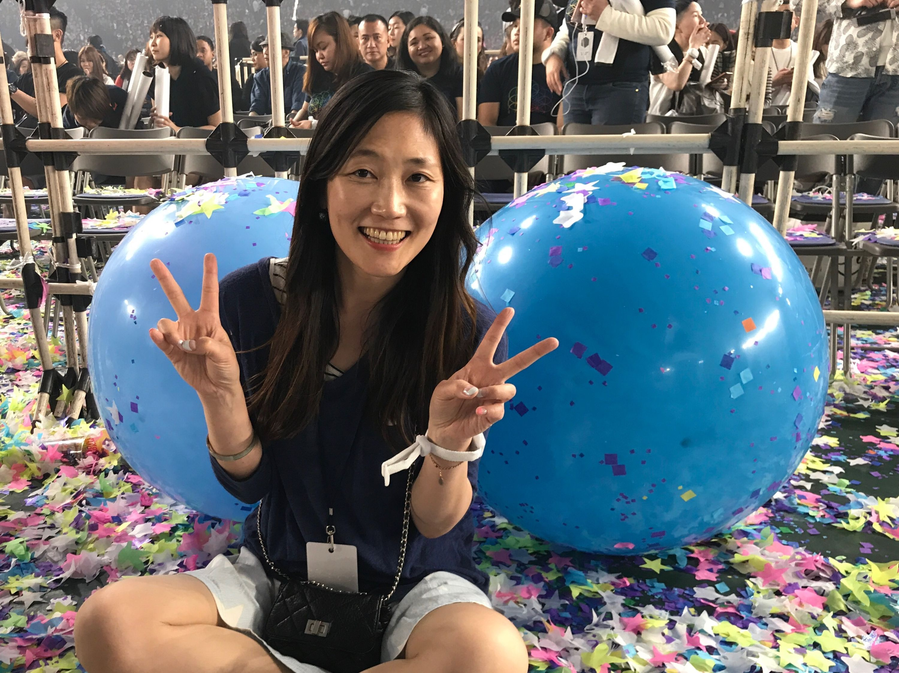 Sunyoung Park photo at Coldplay concert in Tokyo